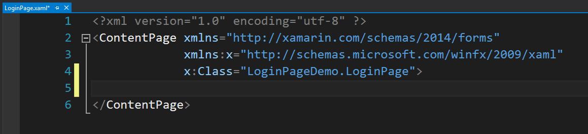 PSD'den XAML'a Login Page Tasarımı (Xamarin Forms) - Xamarin